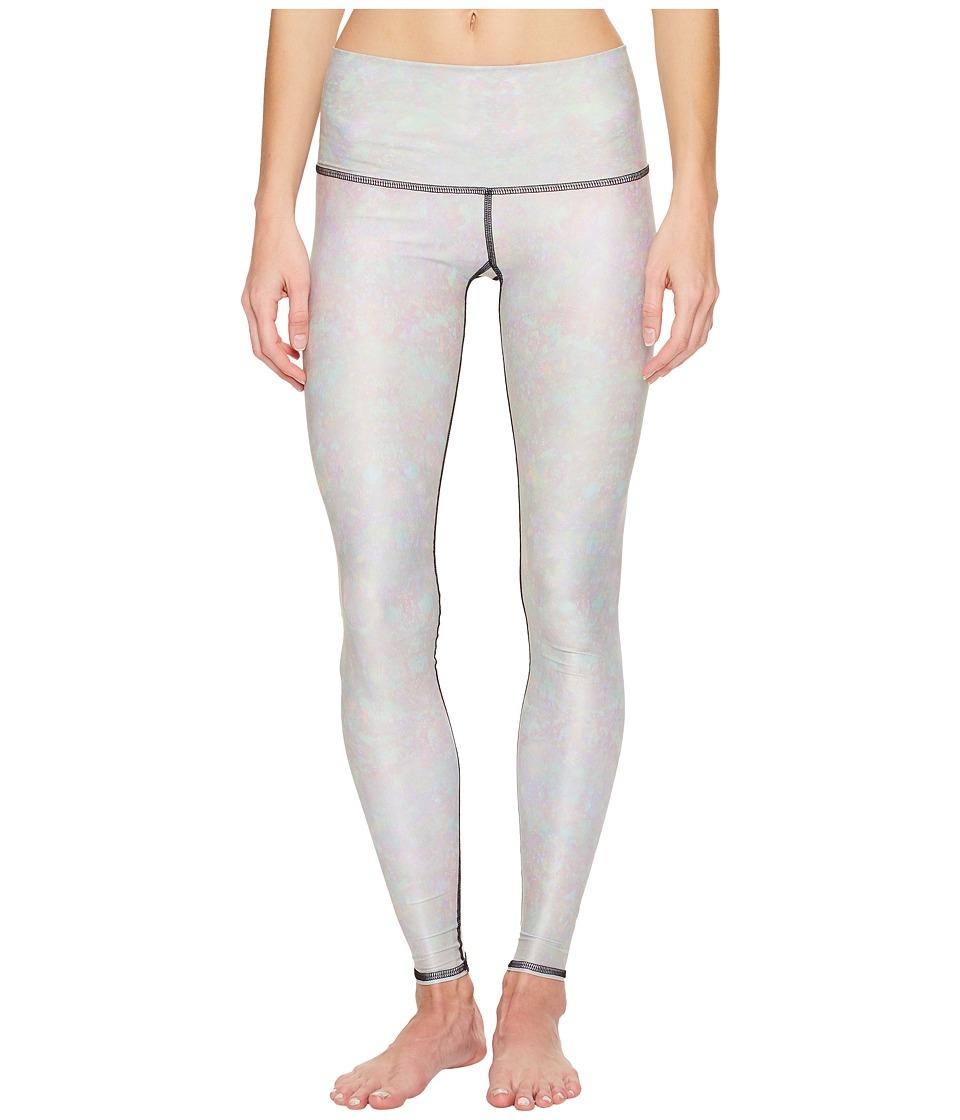 teeki White Snake Opal Hot Pants (White) Women's Casual Pants