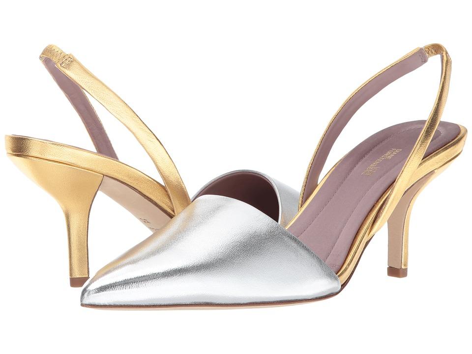Diane von Furstenberg Mortelle (Silver/Gold Metallic Nappa) Women