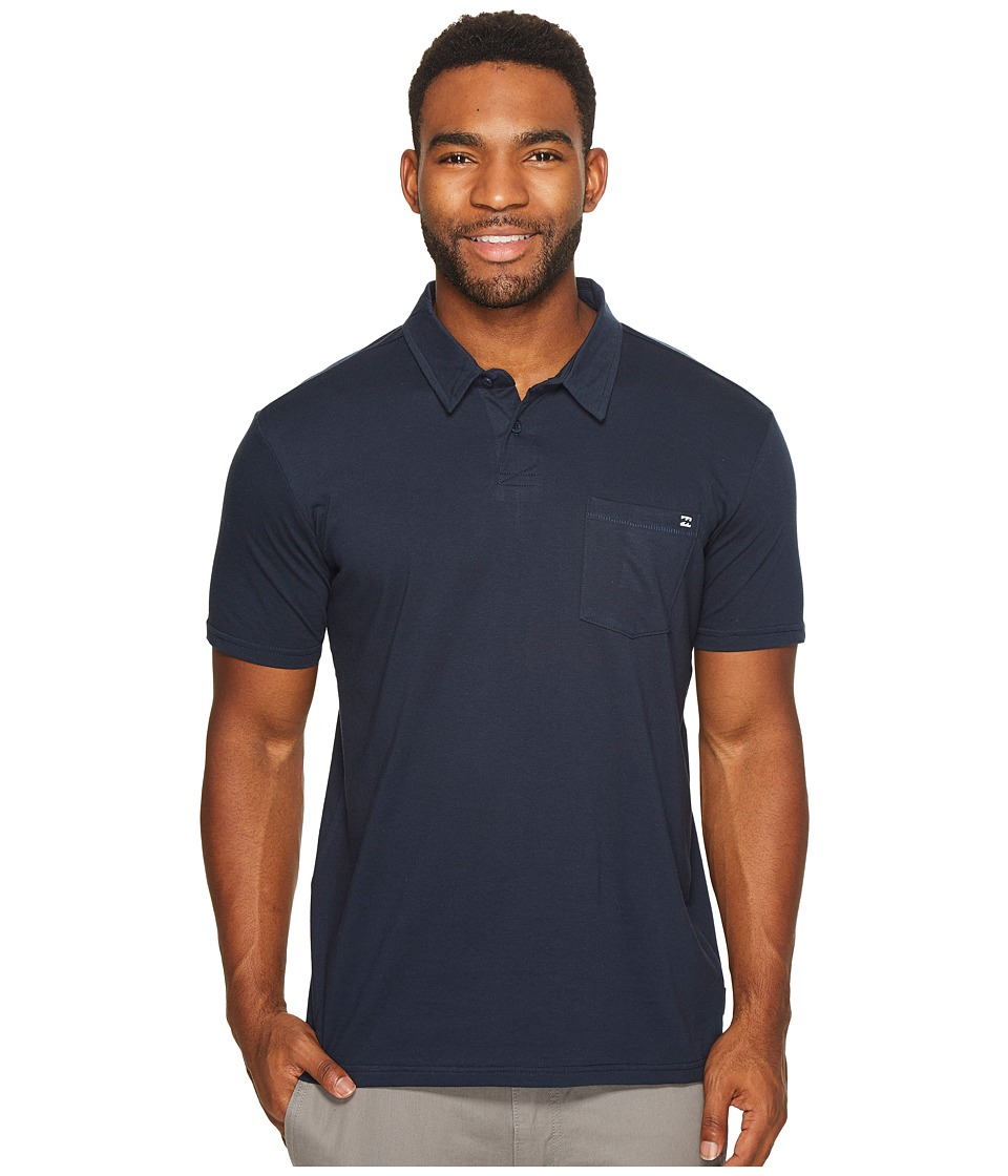 Billabong - Standard Polo (Navy) Men's Clothing