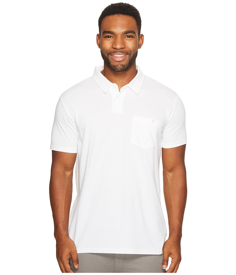 Billabong - Standard Polo (White) Men's Clothing