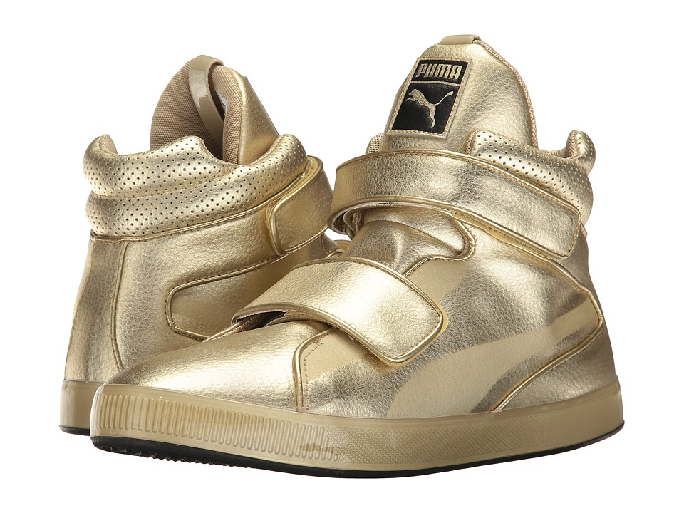 PUMA - Apex Metallic (Team Gold) Men's Shoes