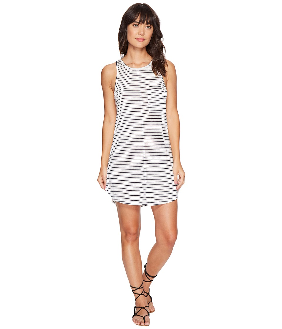 Rip Curl Premium Surf Stripe Dress (White/Navy) Women