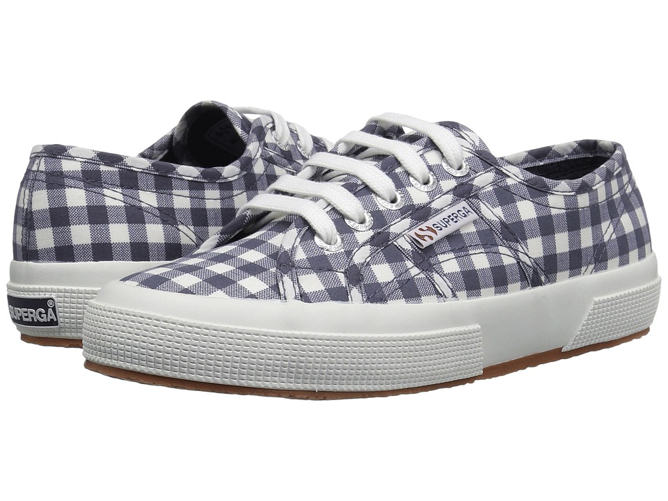 Superga - 2750 Gingham (Navy) Women's Shoes