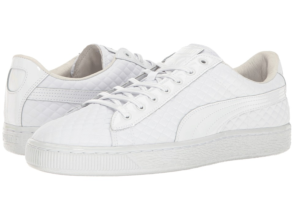 PUMA - Basketxmeek Bike Life (PUMA White) Men's Shoes