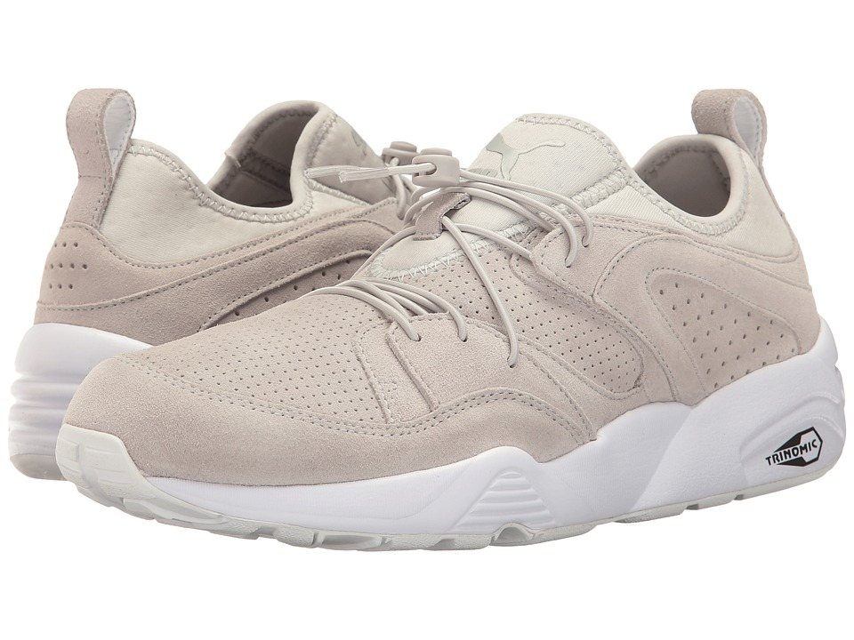 PUMA - Blaze of Glory Soft (Glacier Gray/White) Men's Shoes