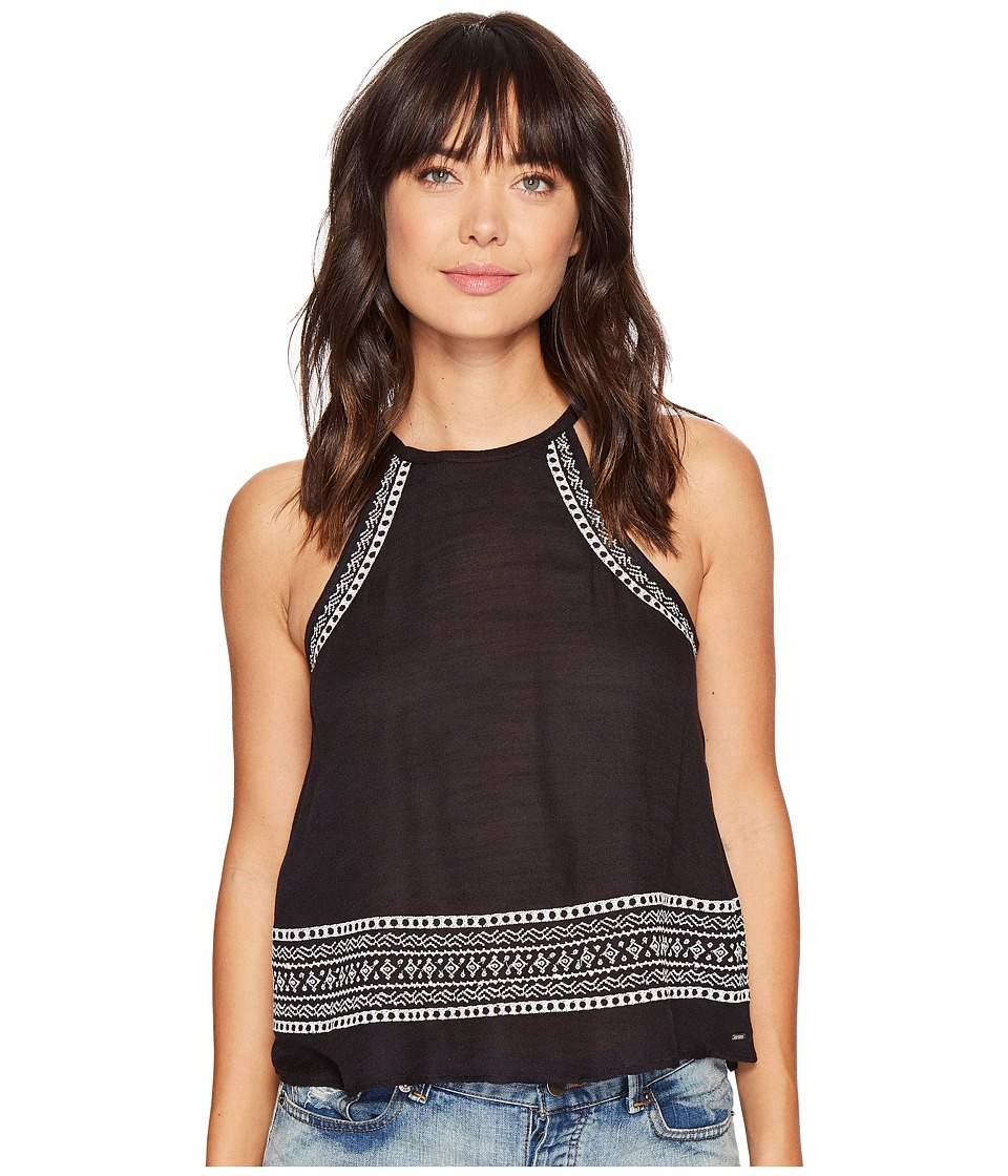 Rip Curl - Far Out Top (Black) Women's Clothing