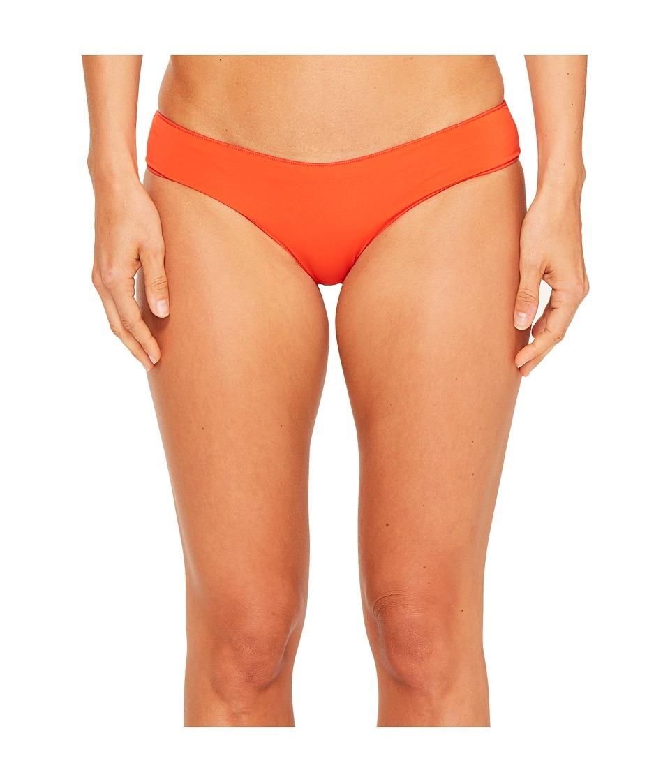 Rip Curl - Classic Surf Hipster Bikini Bottom (Red) Women's Swimwear