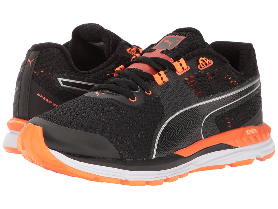 PUMA - Speed 600 Ignite (Black/Periscope/Fluo Peach) Women's Shoes
