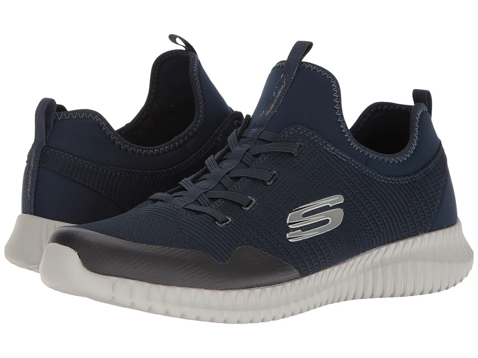 SKECHERS - Elite Flex Lasker (Navy) Men's Lace up casual Shoes
