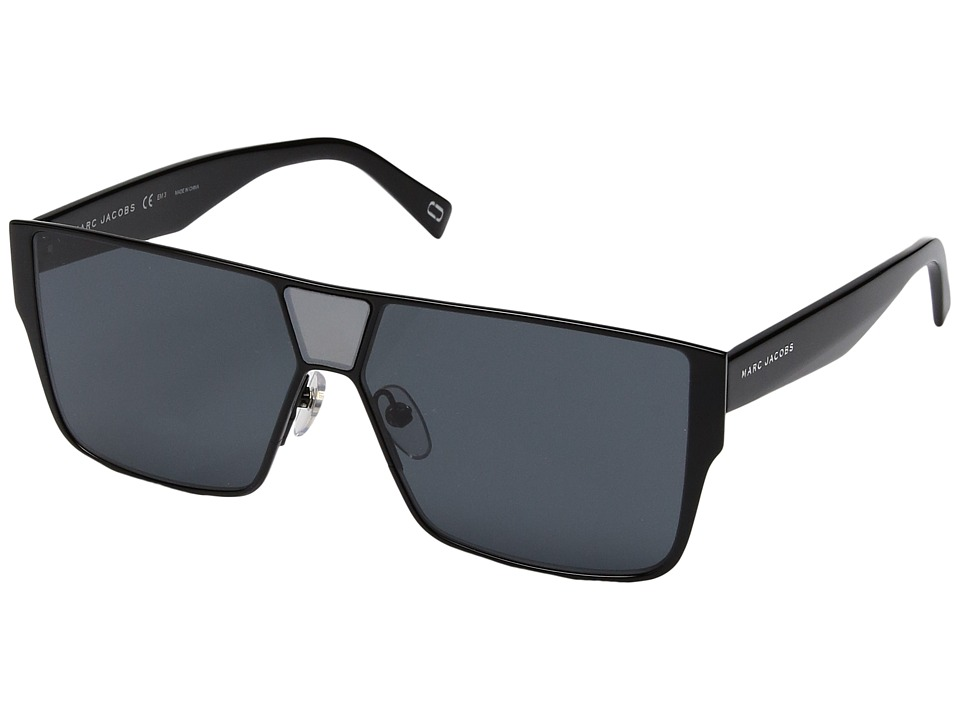 Marc Jacobs - Marc 213/S (Black with Gray Blue Lens) Fashion Sunglasses