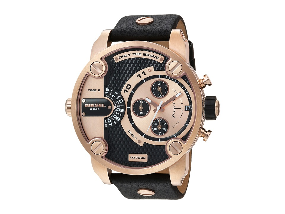 Diesel - DZ7282 (Black/Rose Gold) Watches