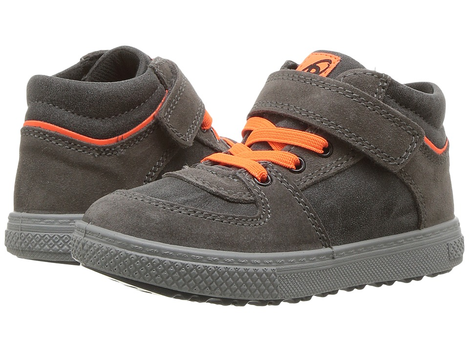Primigi Kids - PBZ 8551 (Toddler) (Grey) Boy's Shoes