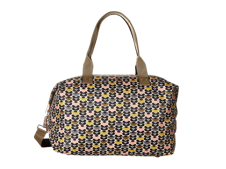 Orla Kiely - Mini Wild Daisy Printed Zip Holdall (Multi) Handbags