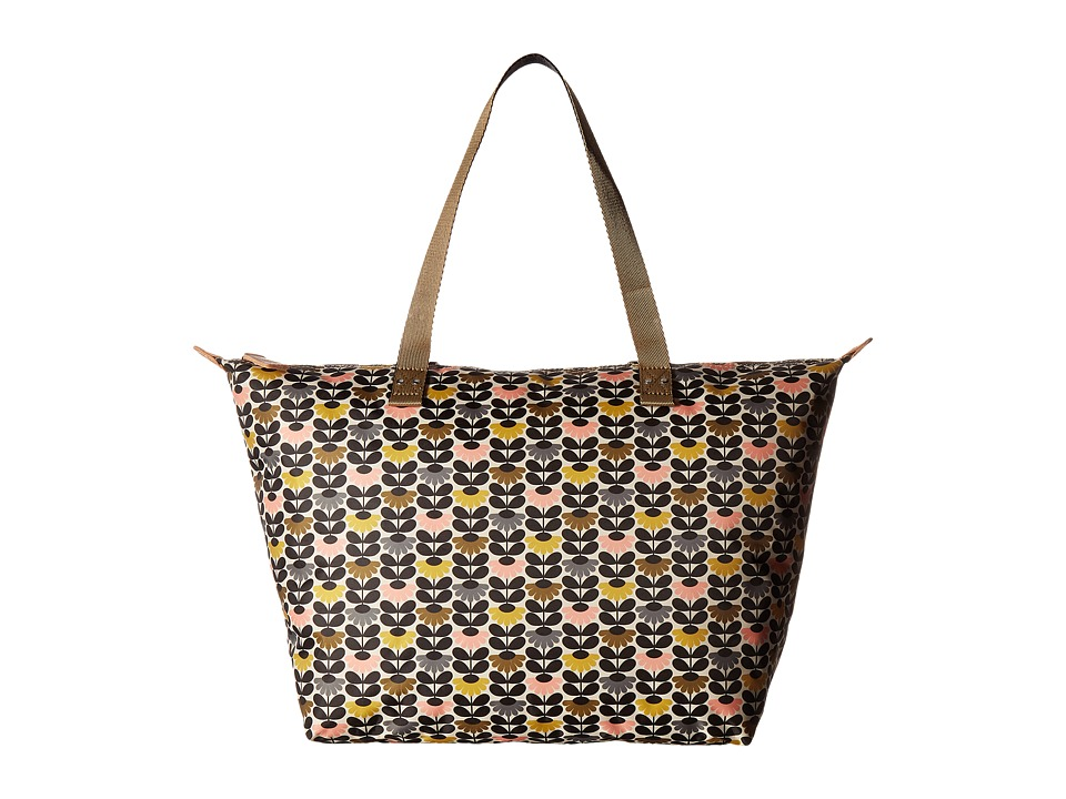 Orla Kiely - Mini Wild Daisy Printed Zip Shopper (Multi) Handbags