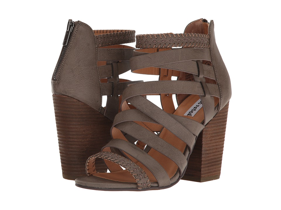 Not Rated - Feelin Strappy (Taupe) Women's Shoes