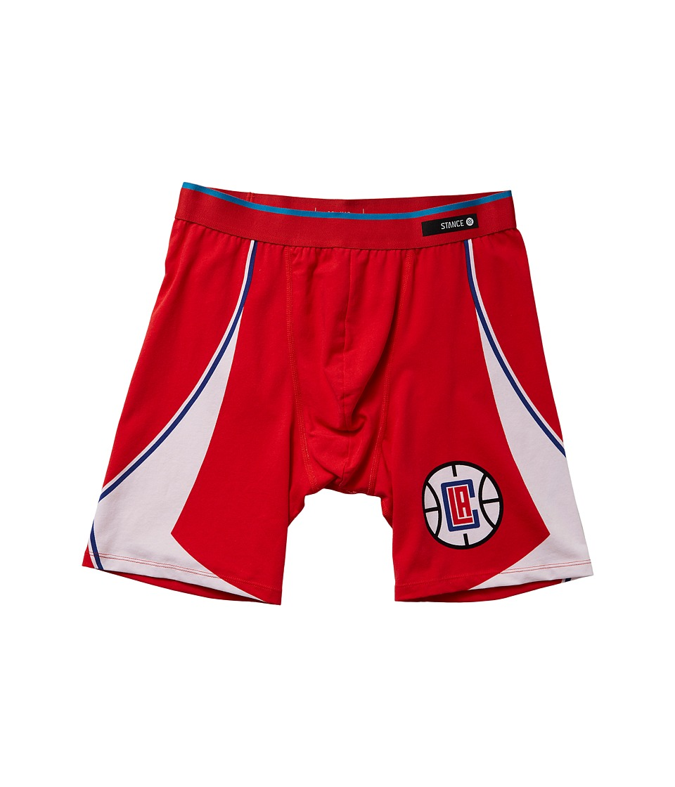 Stance - Clippers Underwear (Red) Men's Underwear