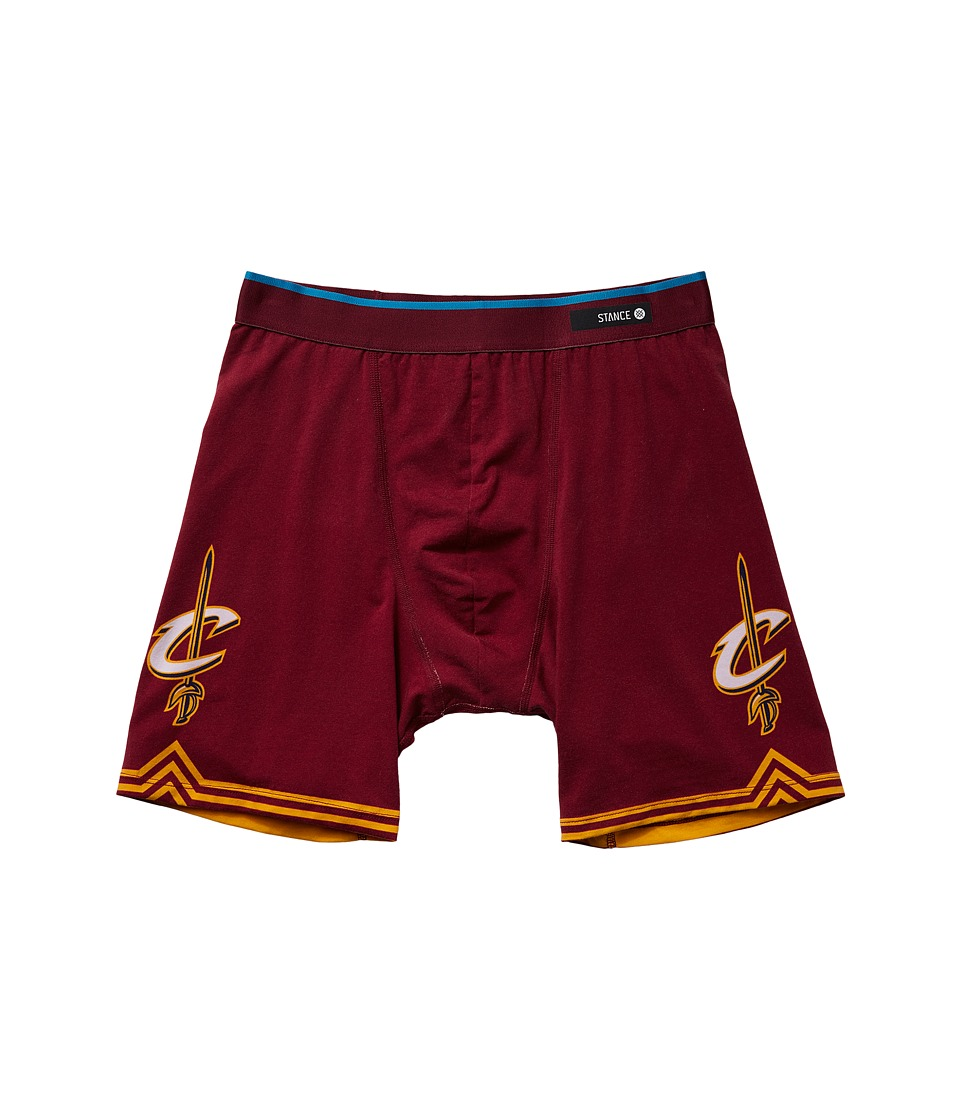 Stance - Cavs Underwear (Burgundy) Men's Underwear
