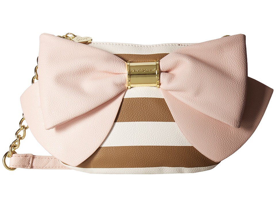 Betsey Johnson - Bow Bow Bow Crossbody (Stripe) Cross Body Handbags