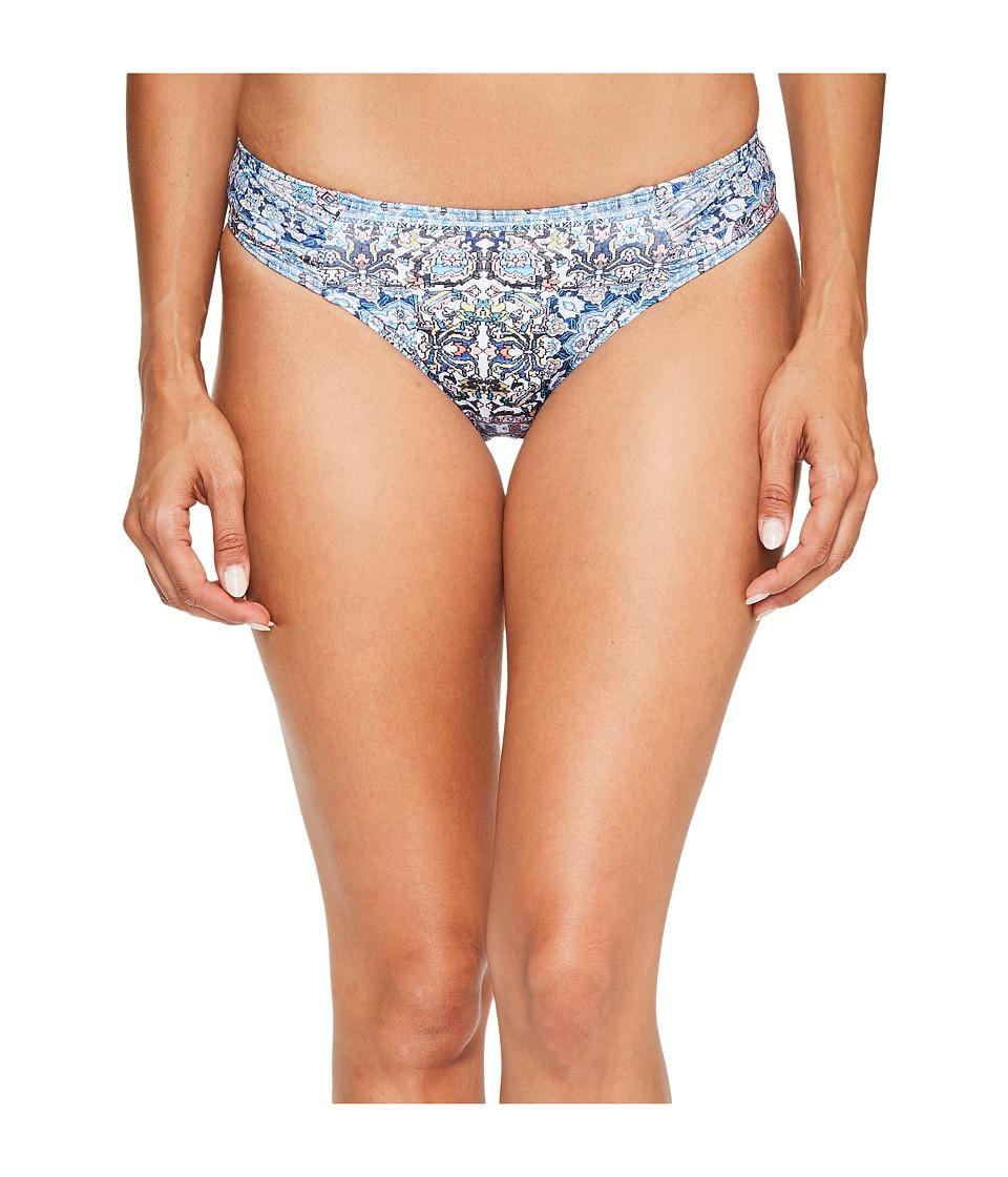 JETS by Jessika Allen - Encounter Gathered Bikini Bottom (Mazarine) Women's Swimwear