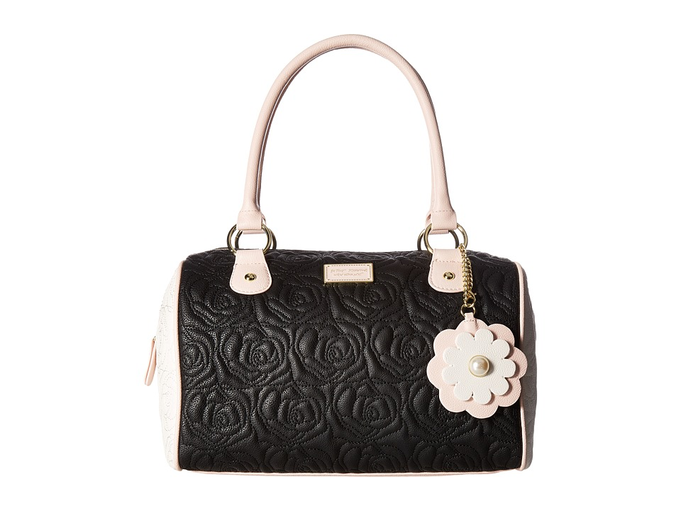 Betsey Johnson - Satchel (Black) Satchel Handbags