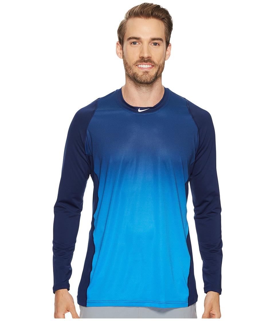 Nike Pro Hypercool Players Training Top (Binary Blue/Light Photo Blue/White) Men