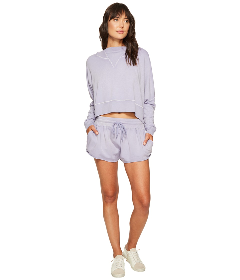 Free People - Morning Run Set (Purple) Women's Active Sets