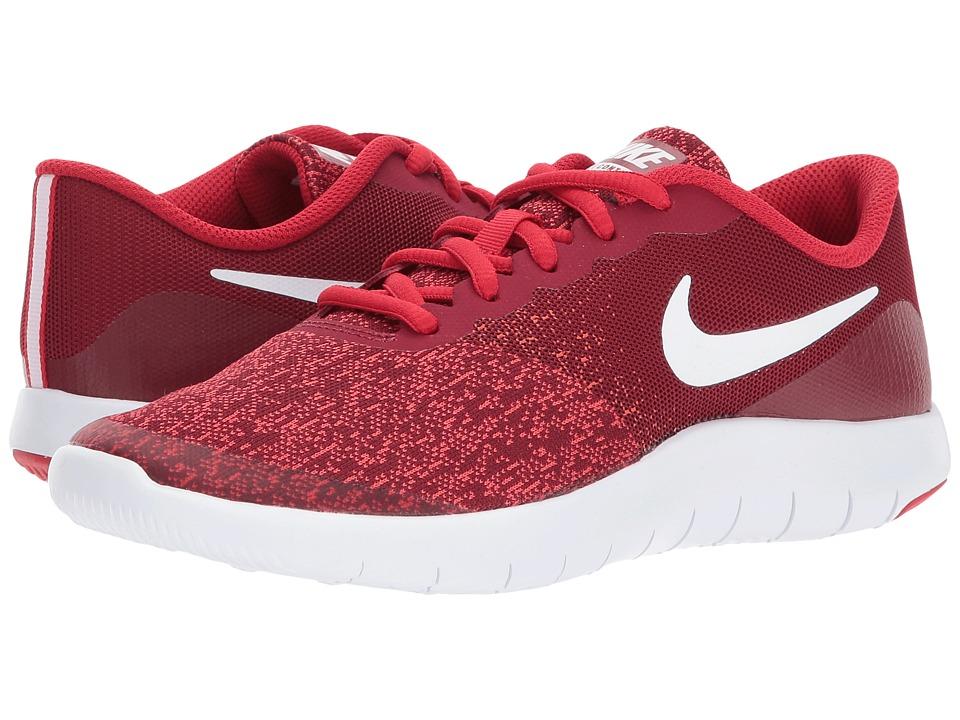 Nike Kids Flex Contact (Big Kid) (Team Red/White/University Red) Boys Shoes