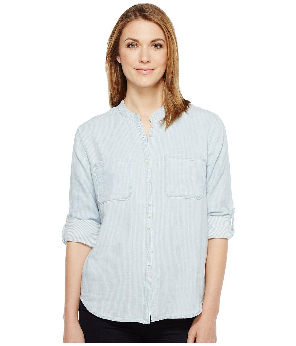 Joe's Jeans - Alice Long Sleeve Shirt (Blue/White) Women's Clothing