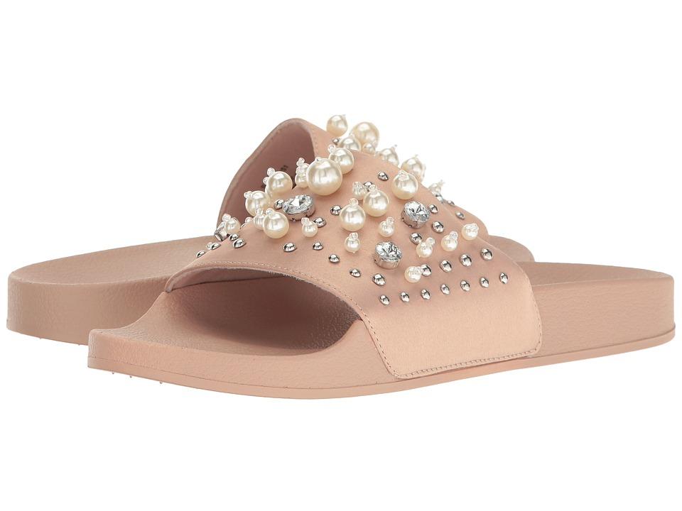 Steve Madden Sandy Blush Satin Shoes
