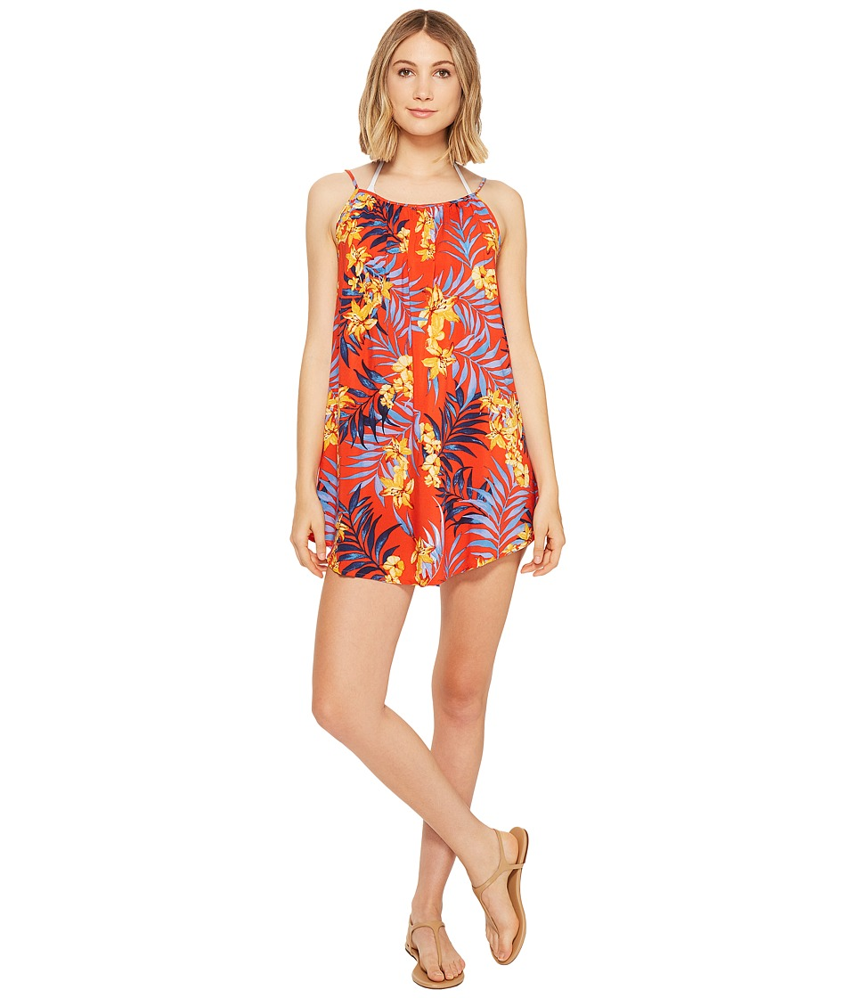 Rip Curl Tropicana Dress Cover-Up (Red) Women