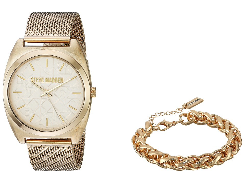 Steve Madden - SMWS004 (Gold/Gold) Watches