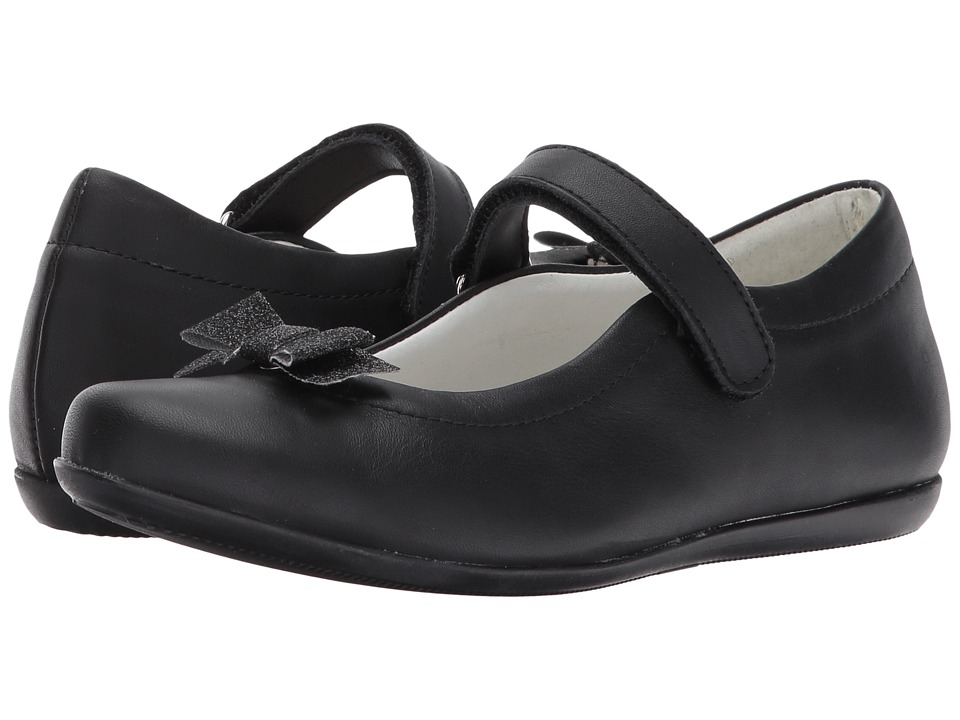 Primigi Kids - PFA 8203 (Big Kid) (Black Nappa) Girl's Shoes