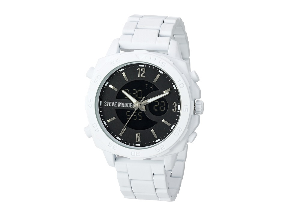 Steve Madden - SMW023 (White) Watches