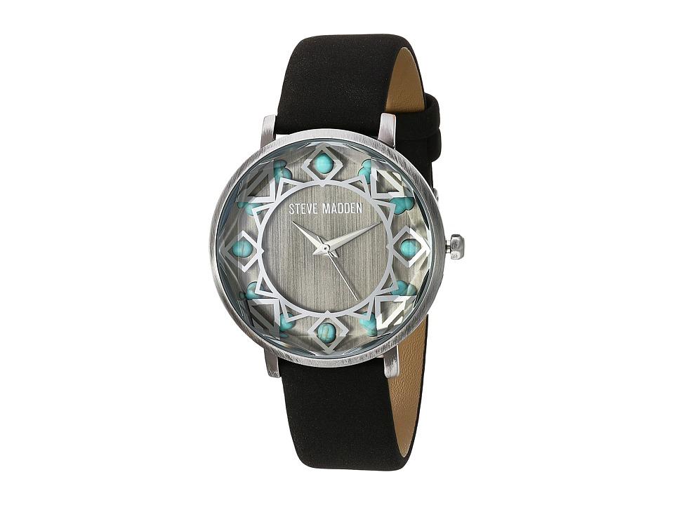 Steve Madden - SMW058 (Silver/Black) Watches