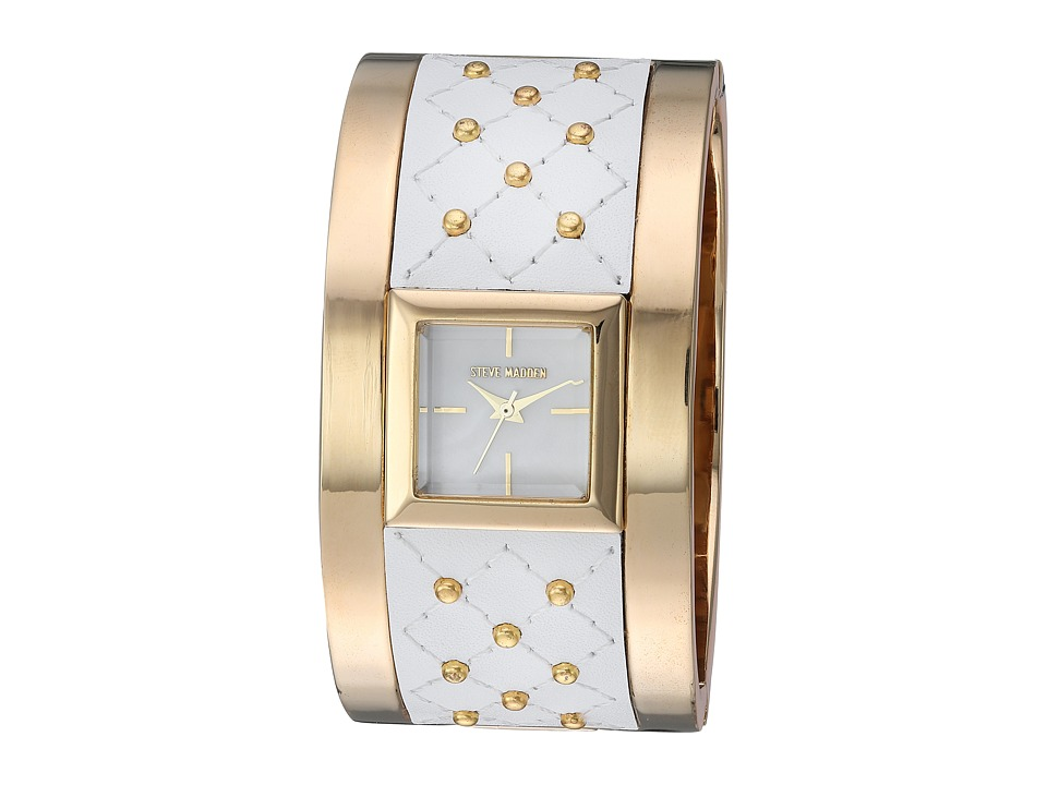 Steve Madden - SMW006 (White/Gold) Watches