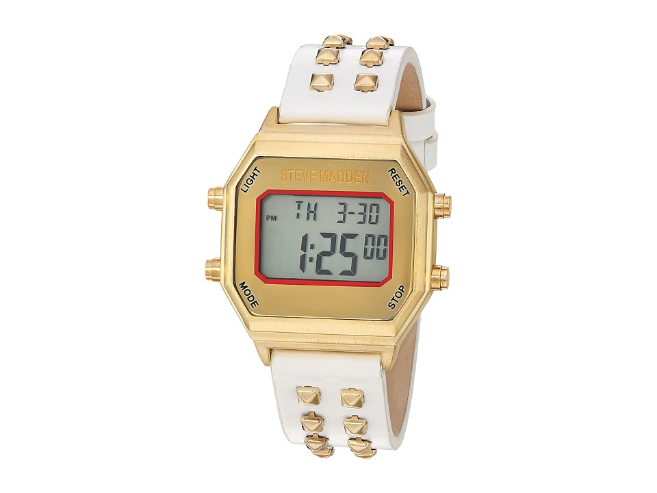 Steve Madden - SMW012 (White/Gold) Watches