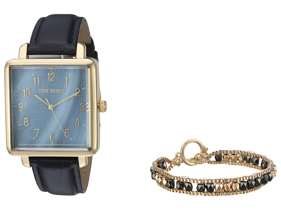 Steve Madden - SMWS006 (Black/Gold) Watches