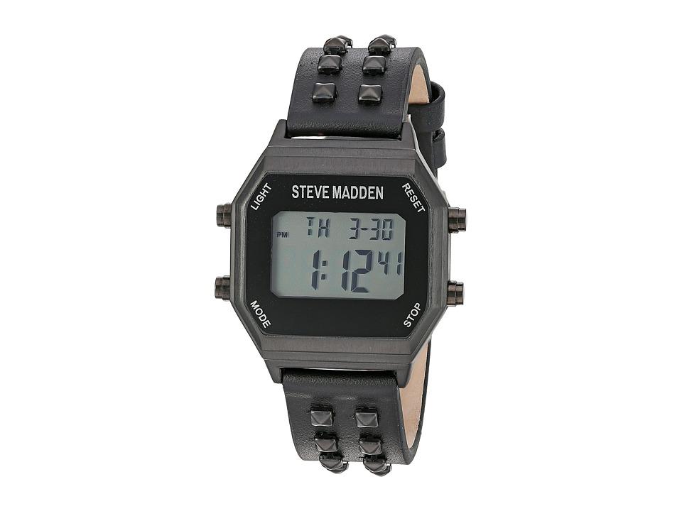 Steve Madden - SMW012 (Black) Watches