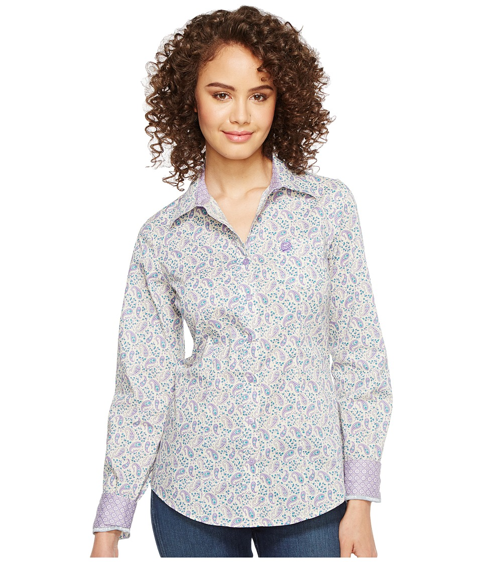 Cinch - Cotton Plain Weave Print (Multi) Women's Clothing
