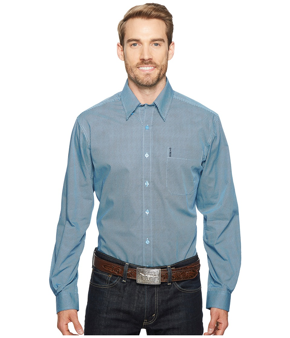 Cinch - Modern Fit Basic Plain (Light Blue) Men's Clothing