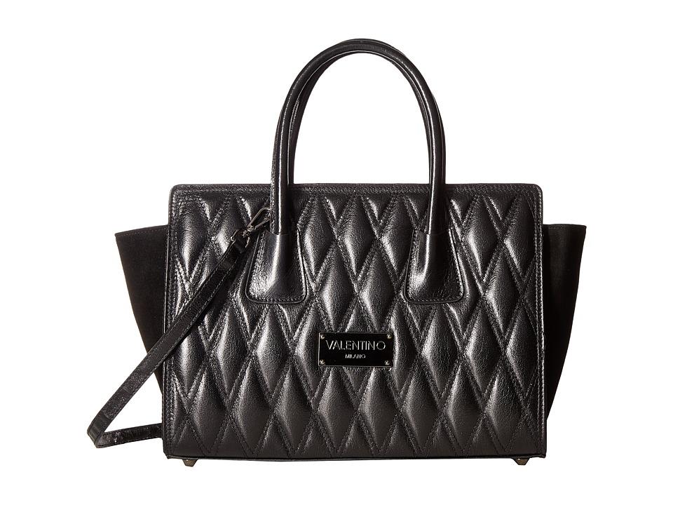 Valentino Bags by Mario Valentino - Kiria (Black) Satchel Handbags