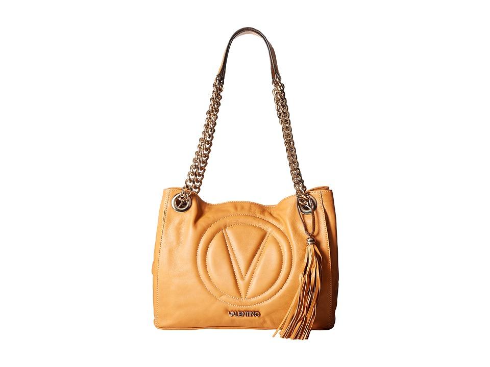 Valentino Bags by Mario Valentino - Luisa 2 (Honey) Handbags
