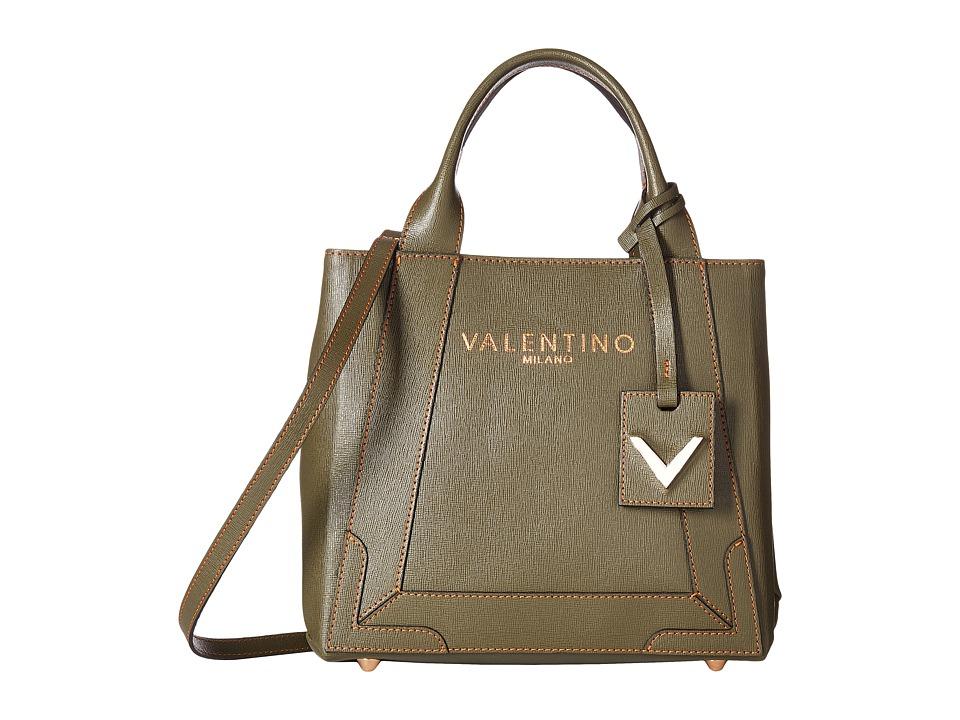 Valentino Bags by Mario Valentino - Audrey (Army Green) Handbags