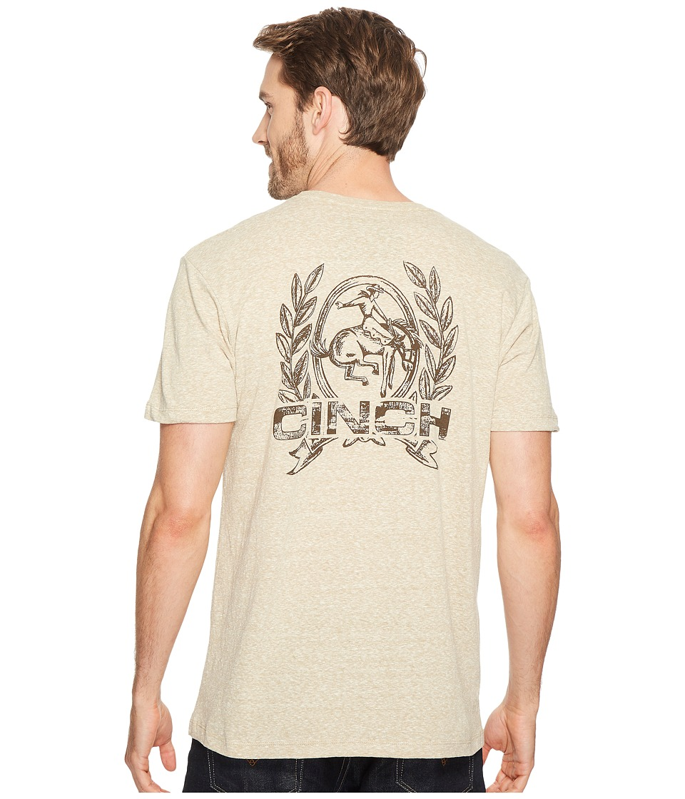 Cinch - Jersey Tee (Khaki) Men's T Shirt