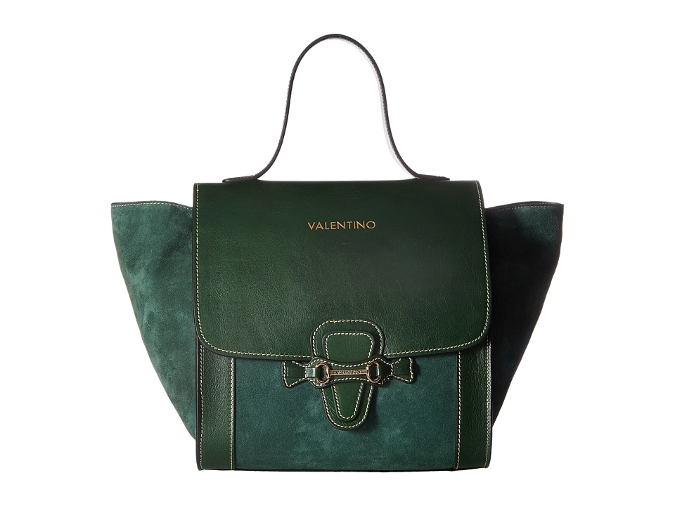 Valentino Bags by Mario Valentino - Amy (Antic Green) Handbags