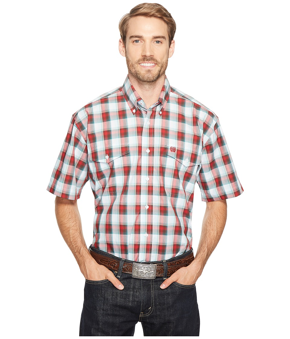 Cinch - Plain Weave Plaid (Multi 2) Men's Clothing
