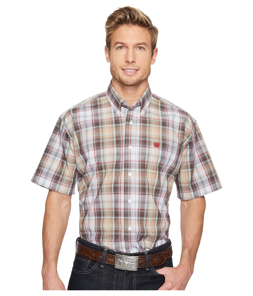 Cinch - Plain Weave Plaid (Multi 3) Men's Clothing