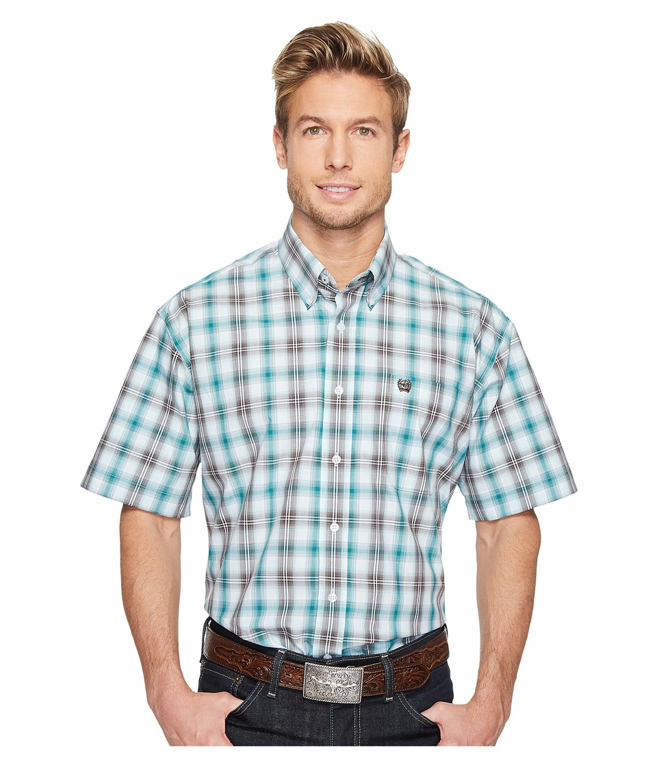 Cinch - Plain Weave Plaid (Multi 4) Men's Clothing