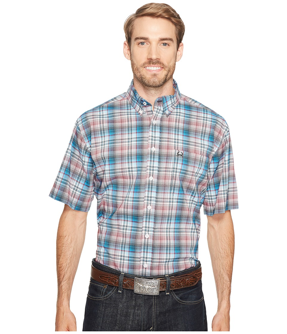 Cinch - Athletic Plaid (Multi) Men's Clothing