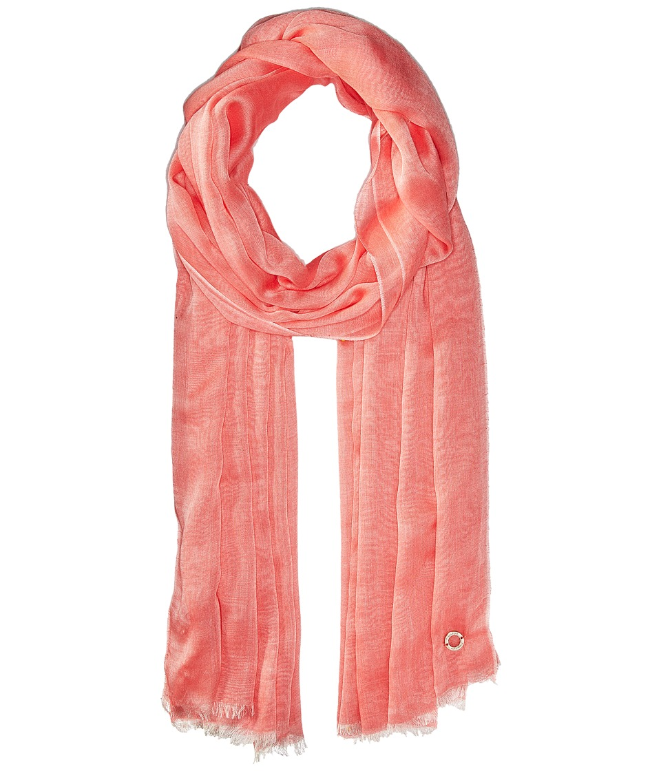 Calvin Klein - Chambray Scarf (Porcelain Rose) Scarves